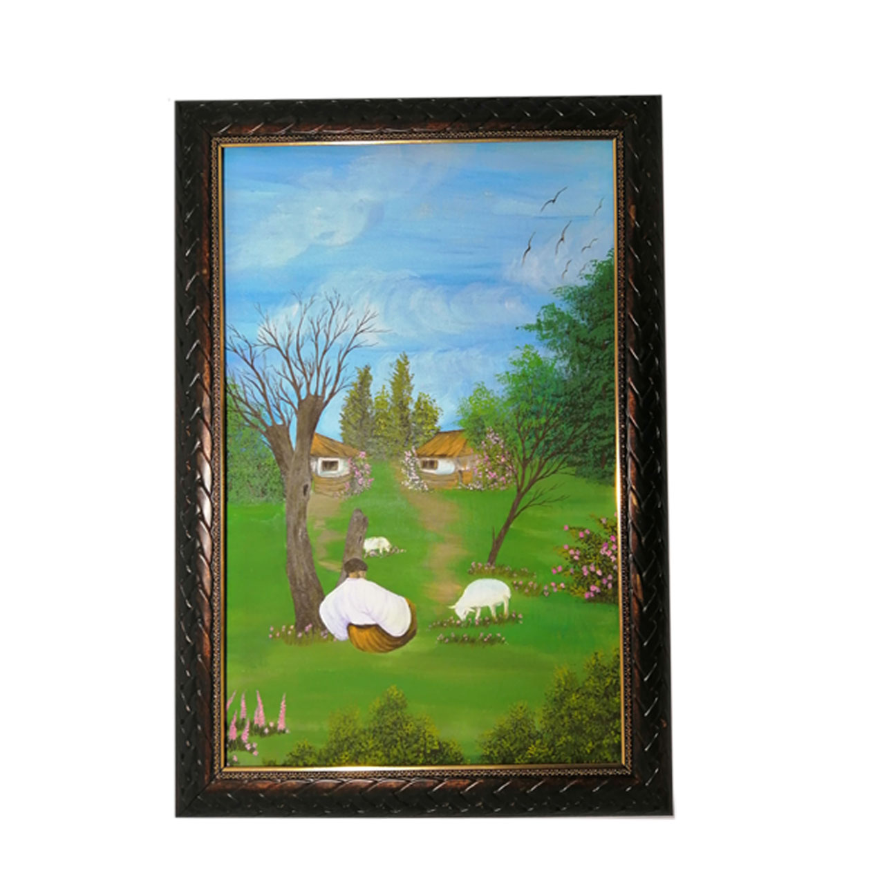 Pasture-cloth-painting