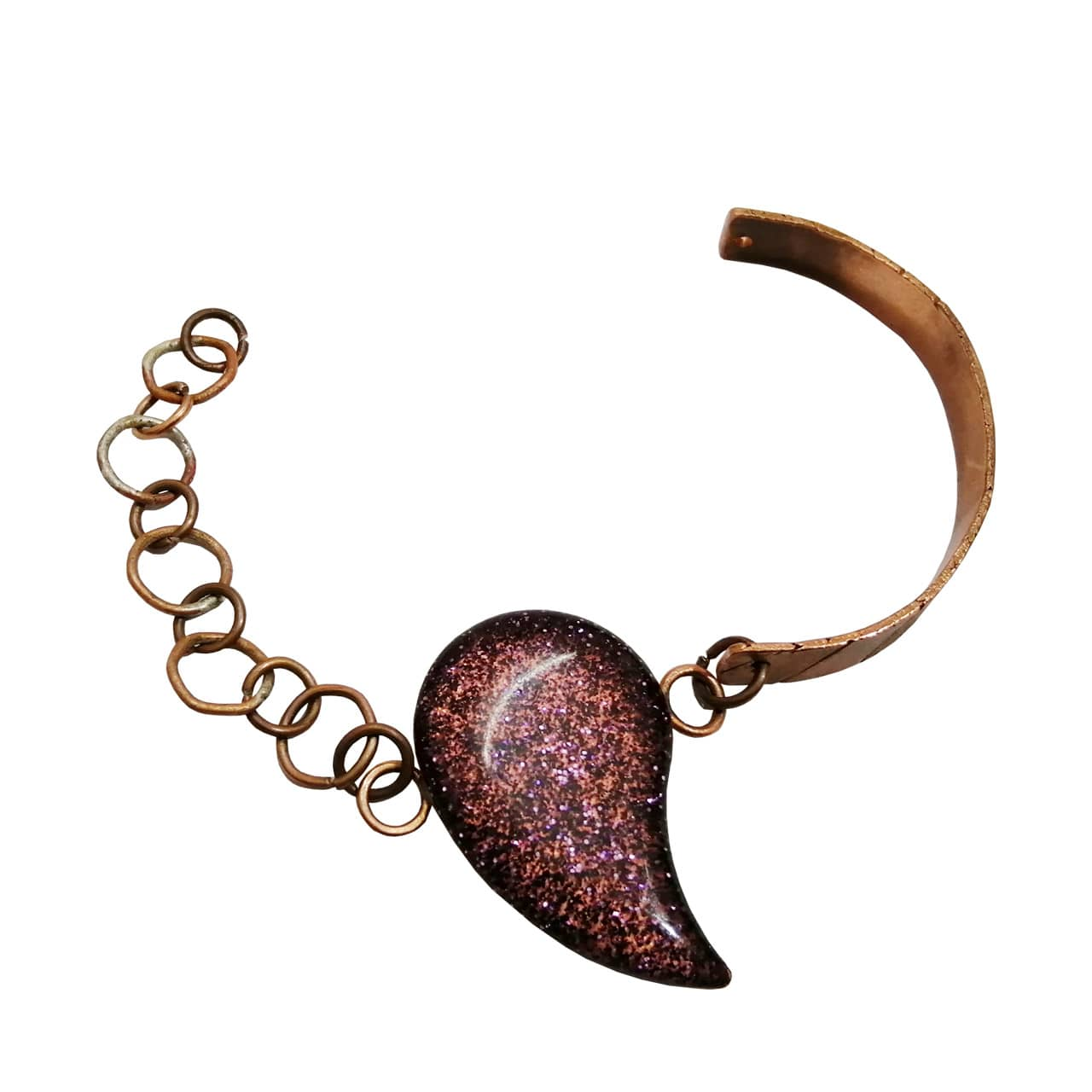 Copper-bracelet-with-resin-decoration
